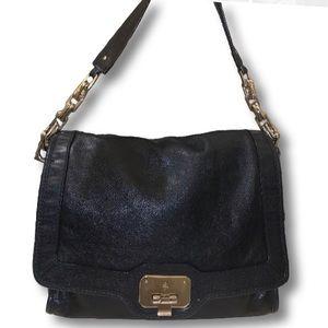 Large Cole Haan leather satchel bag❤️